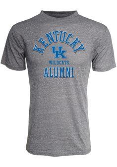 a17008474710 Kentucky Wildcats Grey Arch Alumni Tee Short Sleeve Fashion T Shirt -  16930953