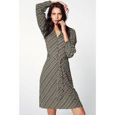 Robe chemise imprimée femme Next - Kaki- Vue 1 Dresses For Work, Cute  Dresses ed7cad59ee15