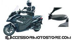 Cubre piernas y manoplas cubre puños SCARABEO 150/200/250 c.FL-B