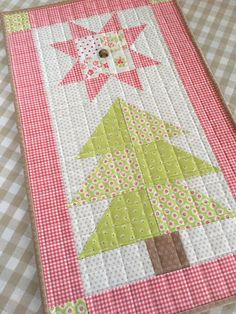 """Single block """"Star Crossed Pines"""" and other gift ideas"""