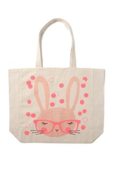 cotton on kids   geek bunny tote