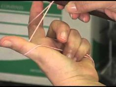 Knitting Instructional Video: How to do a German Cast On