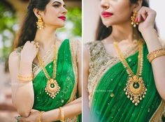 Bridal Diaries with Tanishq Rivaah Wedding Jewelry in Mumbai Eine goldene Polki-Halskette von Tanishq bei WeddingSutra Bridal Diaries. Bridal Looks, Bridal Style, Tanishq Jewellery, Gold Jewelry Simple, Dainty Jewelry, Gemstone Jewelry, Quartz Jewelry, Quartz Ring, Swarovski Jewelry