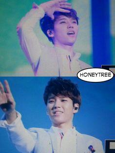 HONEY TREE @wh_honeytree 9h 130809 인피니트 OGS in SEOUL 우현♥  버스타거 오빠 나가셔여 아귀여워ㅜㅜㅜ pic.twitter.com/NEAFEzOR0H
