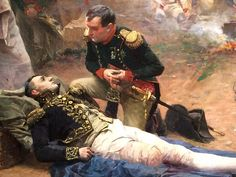 Napoleon returns to visit the wounded