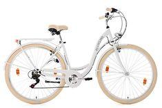 KS Cycling | Damenfahrrad Cityrad 6 Gänge Balloon 28 Zoll