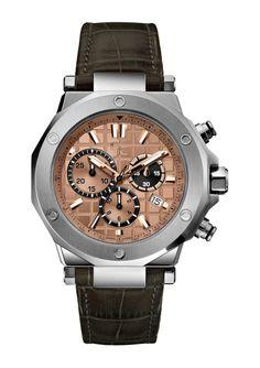 ideeli   GUESS COLLECTION Men's Executive Chronograph Watch