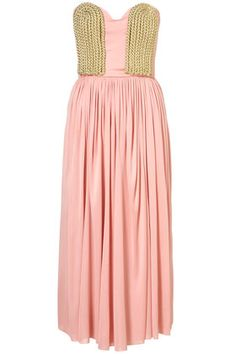 Egyptian dress from Topshop is beautiful for a wedding, event or an elegant date night this spring.