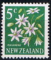 New Zealand 1967 SG 851 Flower Fine Mint                    SG 851 Scott 388 Other British Commonwealth Stamps here
