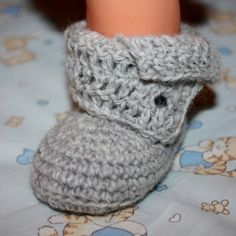 pattern for baby boots