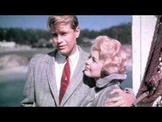 "Troy Donahue and Sandra Dee in ""Summer Place"" 1959 Warner Sandra Dee, Rome Adventure, Movie Stars, Movie Tv, Troy Donahue, Vintage Hollywood, Classic Hollywood, Hollywood Couples, Vintage Tv"