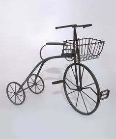 Take a look at this Bicycle Plant Stand by Fourth of July Boutique on #zulily today!