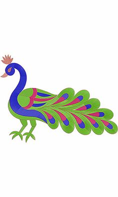 This design also used as Embroidery Machine Applique Instructions, This is Machine Embroidery Applique Designs Peacock Blouse Designs, Peacock Embroidery Designs, Peacock Design, Applique Designs, Embroidery Patterns, Tracing Pictures, Peacock Crochet, Peacock Images, Vaishno Devi