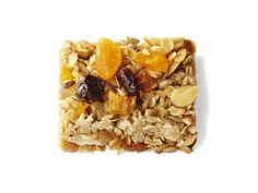 Honey Granola Bars (No. 41) : Toast 3 cups rolled oats, 1 cup sliced almonds and 1/2 cup salted sunflower seeds on a rimmed baking sheet at 350 degrees F, 10 minutes. Melt 6 tablespoons butter with 1/3 cup brown sugar, 1/2 cup honey, 2 teaspoons vanilla and 1 teaspoon salt until the sugar is dissolved. Stir in the oat mixture and 1 cup chopped assorted dried fruit. Bake until lightly browned, about 20 minutes.