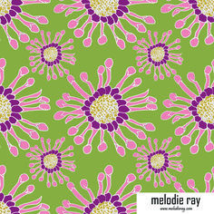 #surfacedesign #textiledesign #fabricdesign #artlicensing #patterncamp #handdrawn #illustration #flowers #floral #fabric #spoonflower