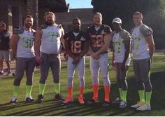 Our pro bowlers. Something about this pose makes me think the white pants were more revealing than the gray pants...