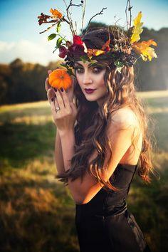 Autumn Fairy Makeup Makeup tutorial- forest fairy