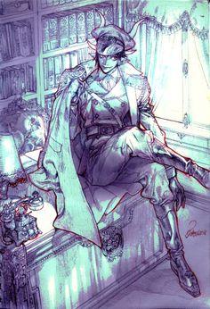 Rotten banquet — commission work & OC doodle