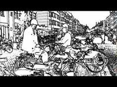 Amsterdam fietsmuseum : Koning winter is wakker.