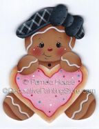 Ginger Heart Cookie ePattern by Pamela House - PDF DOWNLOAD