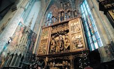 The Altar of Master Paul of Levoča, 16th century, the biggest wooden altar in the world, Slovakia