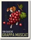 I love vintage wine posters
