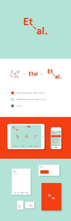 Concept and branding proposal for a young and modern chemical lab that offers its services online.