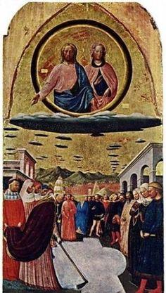 【古代・中世】絵画・壁画に描かれたUFOたち - NAVER まとめ