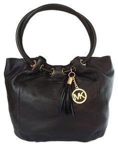 357f783c5d48 Michael by Michael Kors Ew East West Ring Tote Shoulder Bag Michael Kors  Black