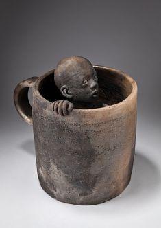 sculpture pit firing