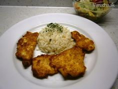 Morčacie prsia v syrovo-cesnakovom cestíčku (fotorecept) Pesto, Chicken, Recipes, Food, Essen, Meals, Ripped Recipes, Yemek, Eten