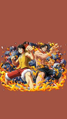 Anime One, One Piece Anime, Ace Sabo Luffy, Japan, Manga, Drawings, Movie Posters, Character, Monkey