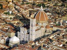Florence Cathedral - Florence, IT - 1296 - Gothic.