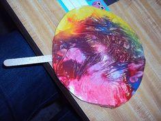 Lollipop craft for preschool, Letter L craft