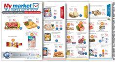 MyMarket. Ξεφυλλίστε online, το νέο φυλλάδιο (20 σελ) «Εδώ νιώθεις εμπιστοσύνη !» με προϊόντα super market. Ισχύει έως 15.11.2016 More: http://www.helppost.gr/prosfores/super-market-fylladia/my-market/