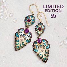 Holly Yashi.  2012 Holiday Limited Edition Earrings