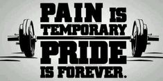 A powerlifting motto