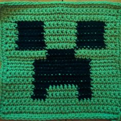 Minecraft Creeper Pattern for Cushion Cover or by SwagandStitches