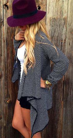 e06c3317f82594 WealFeel Open Front Unlined Cardigan - WealFeel Skirt Outfits