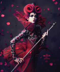 """Red Queen Starring Sona Kharatian-The Washington Ballet's grandest production yet with designs by Liz Vandal (Cirque du Soleil's """"Ovo"""")"""