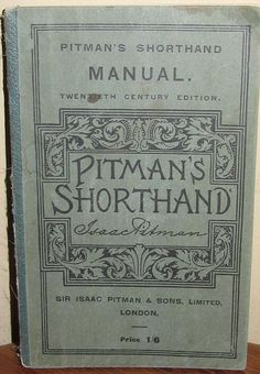 The Perfect Secretary Pitman Shorthand, Shorthand Writing, Nostalgic Images, Homeschool Books, Days Of Future Past, Thanks For The Memories, Red Books, Beautiful Book Covers, Book Cover Art