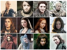 The many woman of GOT