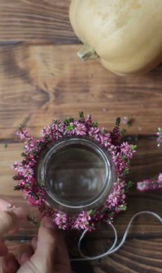 Heidekraut-Teelichter - My list of best Diy and Crafts Simple Bridal Shower, Bridal Shower Flowers, Bridal Shower Centerpieces, Bridal Shower Rustic, Elegant Party Decorations, Decoration Table, Diy Luminaire, Brunch Decor, Deco Floral