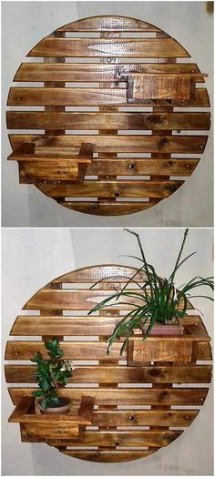 Wooden Pallet Projects pallet wall planters designs 2 - Endow your abode with reasonable and fascinating wood pallet furniture. Give your place glamorous look by reusing wood pallets. Dress your home in captivating style. Wooden Pallet Projects, Wooden Pallet Furniture, Pallet Crafts, Wooden Pallets, Wooden Diy, Pallet Ideas, Antique Furniture, Painted Furniture, Furniture Stencil
