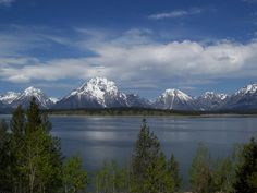 Grand Teton National Park, Wyoming, US -- had to cut our trip short because it was snowing the last week of May