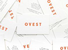 Ortolan : Projects : Branding + Identity : Ovest