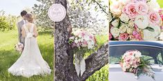 Style Inspiration: Spring Garden Wedding in a Blooming Apple Orchard Blooming Apples, Spring Bouquet, Wedding Inspiration, Style Inspiration, Spring Garden, Garden Wedding, Pastels, Floral Design, Canada