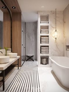 29 trendy bathroom design natural home White Bathroom Decor, Modern Bathroom Design, Bathroom Interior Design, Bathroom Designs, Bathroom Ideas, Turquoise Bathroom, Bathroom Inspo, Bathroom Remodeling, Kitchen Interior