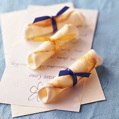 Diploma Cookies Recipe