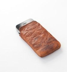 Rogue Iphone Field Case - Made for adventure - the iPhone Field Case. Here at Rogue Industries we designed a top loading case using custom tanned top-grain leather, stitched right here in Maine. Rugged Horween leather ages beautifully over time, and the pack cloth lining is gentle on your iPhone. One of a kind.